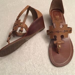 Tory Burch phoebe sandals / wedges
